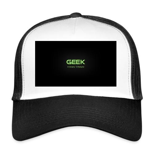 geek_binary_life_style - Gorra de camionero