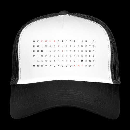 Word search It... - Trucker Cap