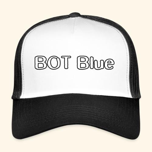BOT Blue Written Logo - Trucker Cap