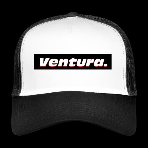 Ventura Black Logo - Trucker Cap