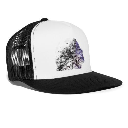 arbre de visage - Trucker Cap
