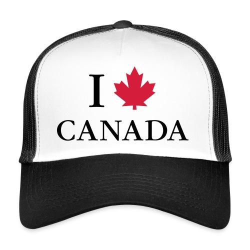 I love Canada Ahornblatt Kanada Vancouver Ottawa - Trucker Cap