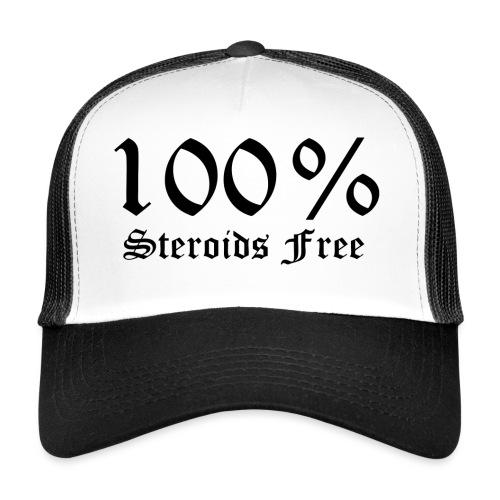 100% bez sterydów - Trucker Cap