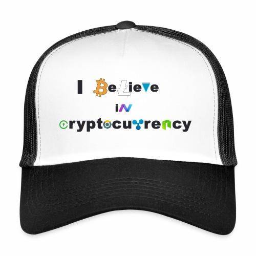 I believe in Cryptocurrency Stofftasche Kyptowähr - Trucker Cap
