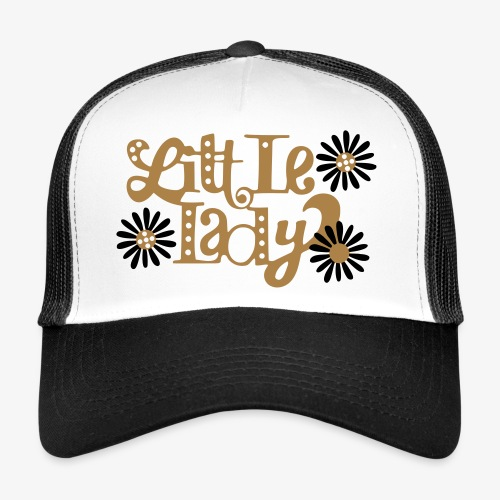 large_little-lady - Trucker Cap