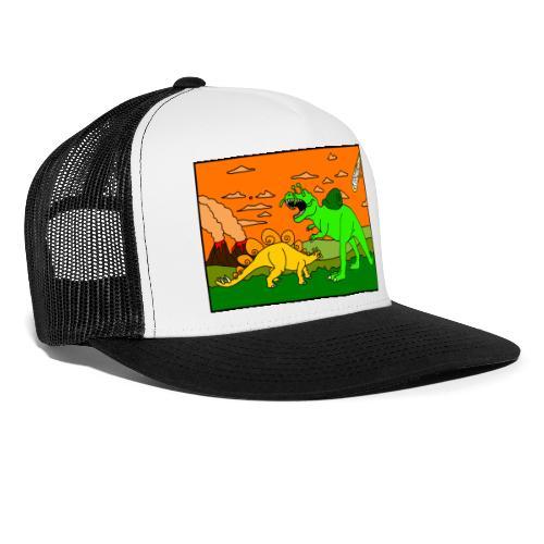 Schneckosaurier von dodocomics - Trucker Cap