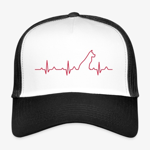 Dog Heartbeat 2 - Trucker Cap
