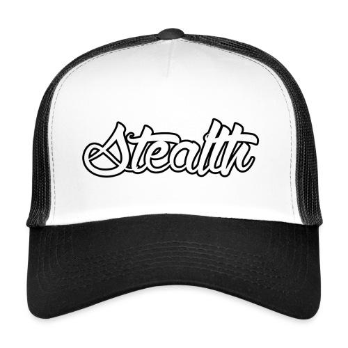 Stealth White Merch - Trucker Cap