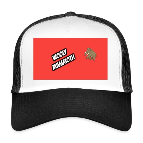 Wooly Mammoth accessories design - Trucker Cap