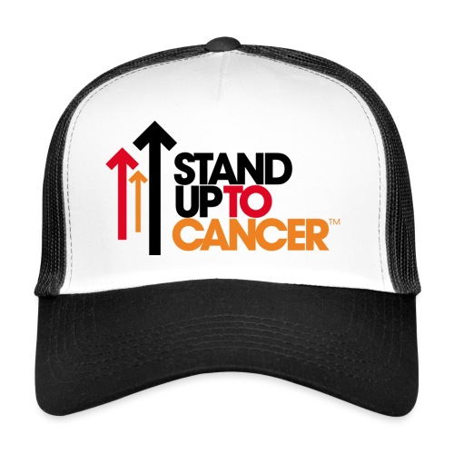 stand up to cancer logo - Trucker Cap