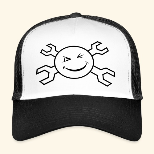 logo_atp_black - Trucker Cap