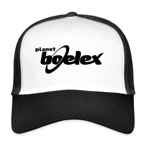 Planet Boelex logo black - Trucker Cap