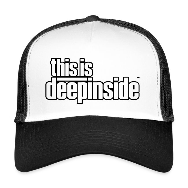 This is DEEPINSIDE logo black