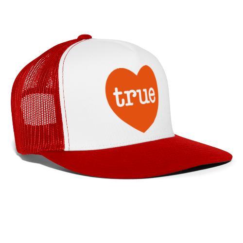 TRUE LOVE Heart - Trucker Cap