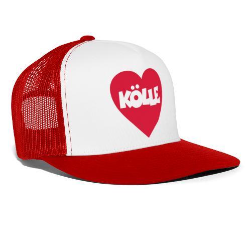 I Love Kölle - Ein Herz für Köln - Trucker Cap