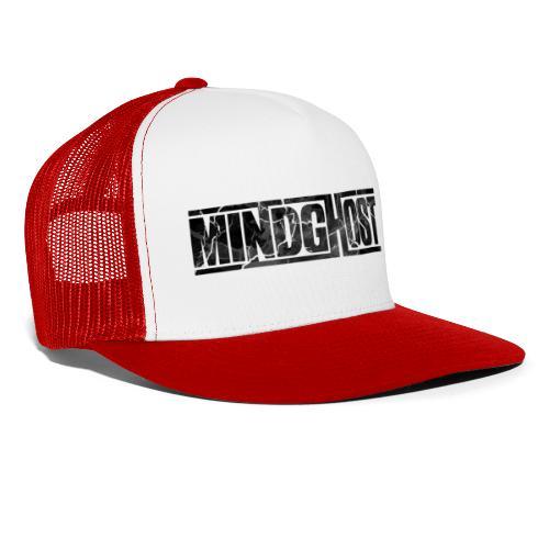 Mindghost Logo Black - Trucker Cap