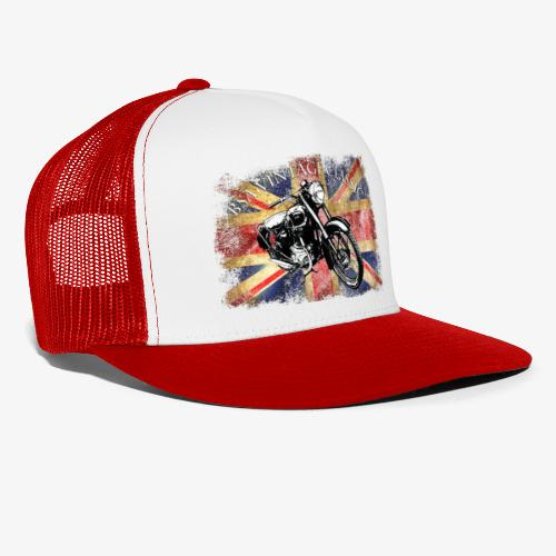 Vintage famous Brittish BSA motorcycle icon - Trucker Cap
