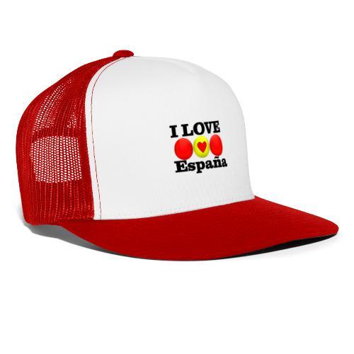 yo amo a España I love España - Gorra de camionero
