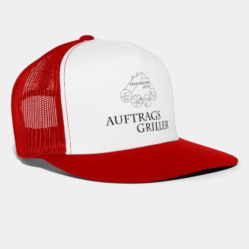 Schriftzug Auftragsgriller + Logo - Version II - Trucker Cap