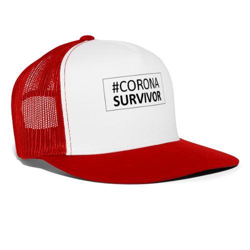 corona virus survivor - Trucker Cap