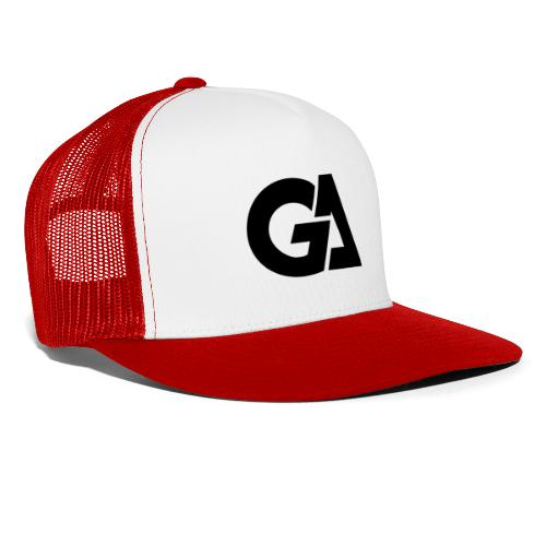 GA Zwart Logo Merch - Trucker Cap