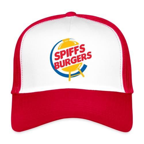 spiffs burgers logo - Trucker Cap