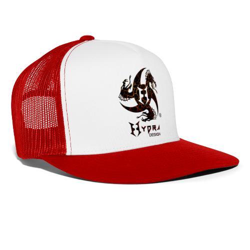 Hydra Design - logo Cracked lava - Trucker Cap