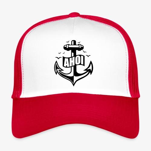 104 Ahoi Anker Möwen maritim - Trucker Cap