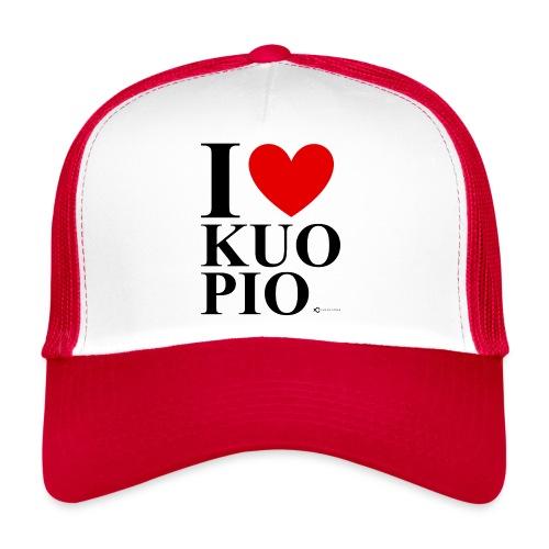 I LOVE KUOPIO ORIGINAL (musta) - Trucker Cap