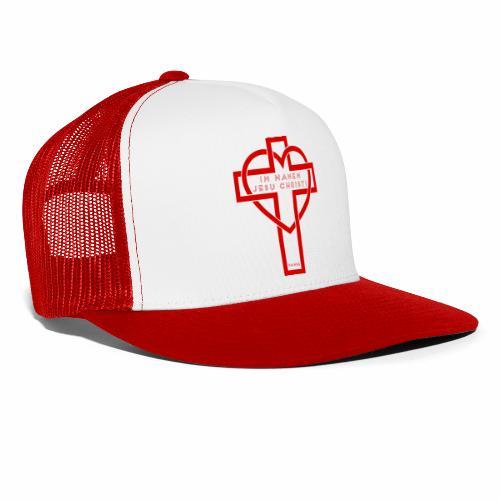 Im Namen JESU CHRISTI - rot - Trucker Cap