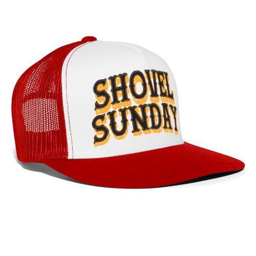 Shovel Sunday logo - Trucker Cap