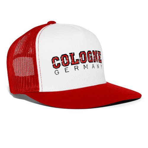 Köln Cologne Germany (Vintage Rot) - Trucker Cap