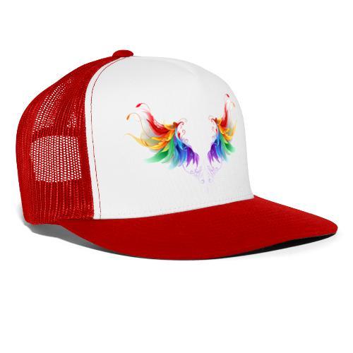Ailes d'Archanges aux belles couleurs vives - Trucker Cap