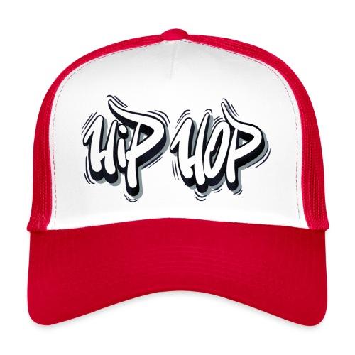 Hip Hop Graffiti Sticker - Trucker Cap