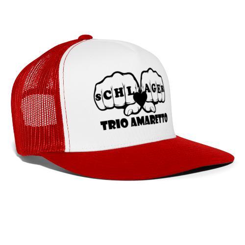 Black Print Trio Amaretto - Trucker Cap