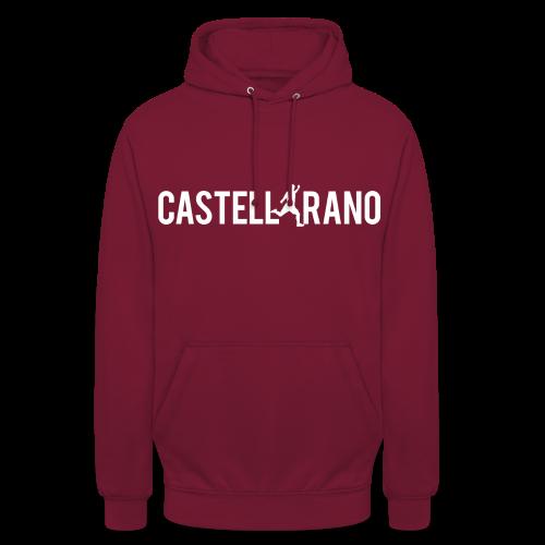 Castellarano by Sayonara - Felpa con cappuccio unisex
