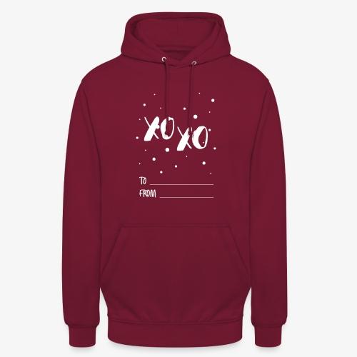 XOXO Christmas Wishes - Unisex Hoodie