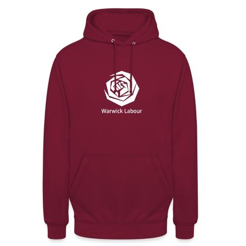 White Logo Merch - Unisex Hoodie