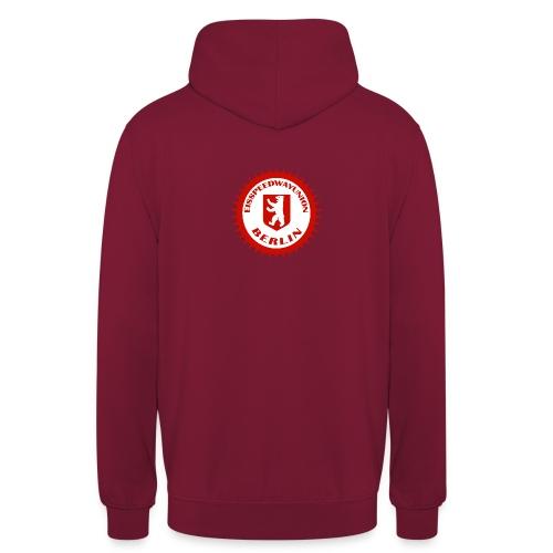 Logo in Rot Weiß - Unisex Hoodie