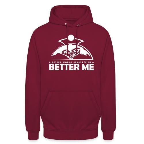 Better Me - White - Unisex Hoodie