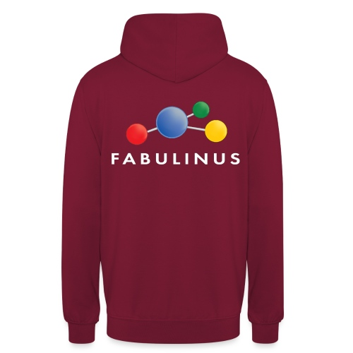 Fabulinus logo enkelzijdig - Hoodie unisex