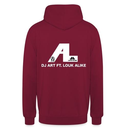 DJ Art ft. Louk Alike (donkere pull-kleuren) - Hoodie unisex