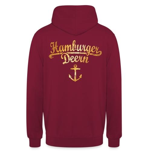 Hamburger Deern Klassik (Vintage Goldgelb) - Unisex Hoodie