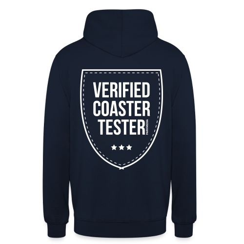 Badge CoasterTester vérifié - Sweat-shirt à capuche unisexe