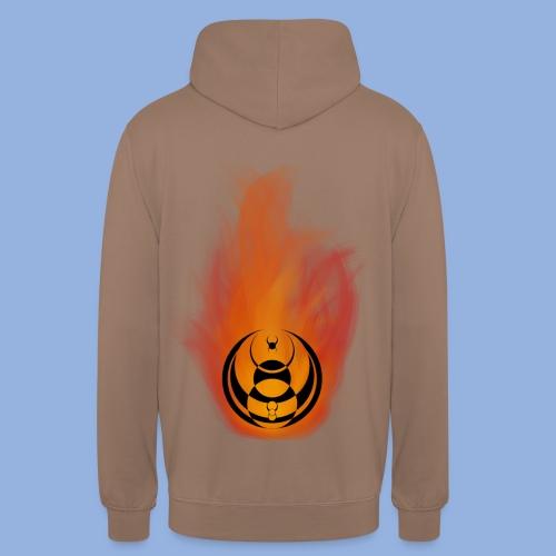 Seven nation army Fire - Sweat-shirt à capuche unisexe