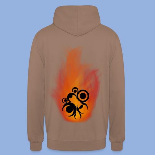Should I stay or should I go Fire - Sweat-shirt à capuche unisexe