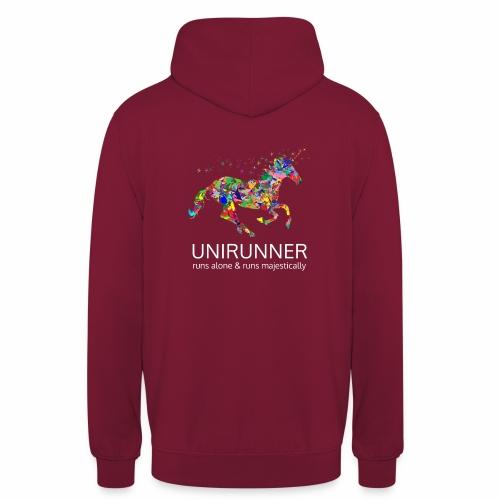 unirunner - alleen voor magische hardloopfans - Hoodie unisex