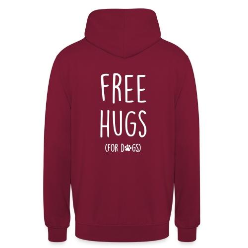 free hugs for dogs - Unisex Hoodie