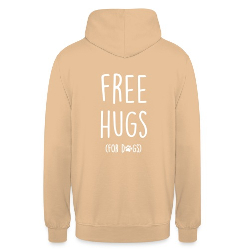 free hugs for dogs - Unisex Hoodie