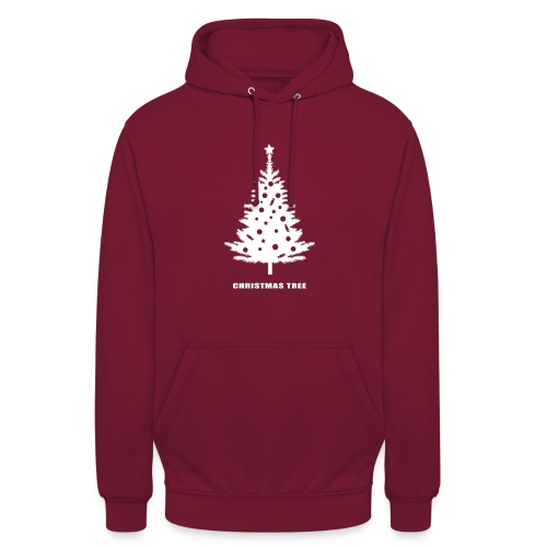 christmas tree, christmas, new year, rockefeller - Unisex Hoodie